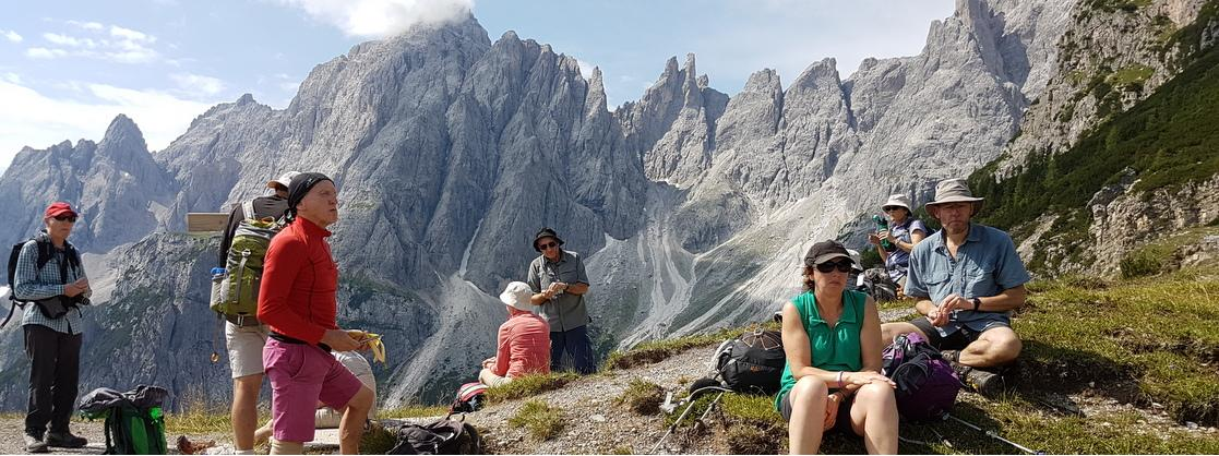 Hiking in Austria and the Dolomites