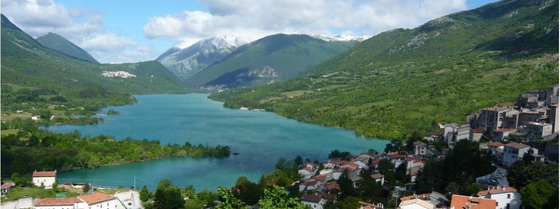 The Lake of Barrea, Abruzzo