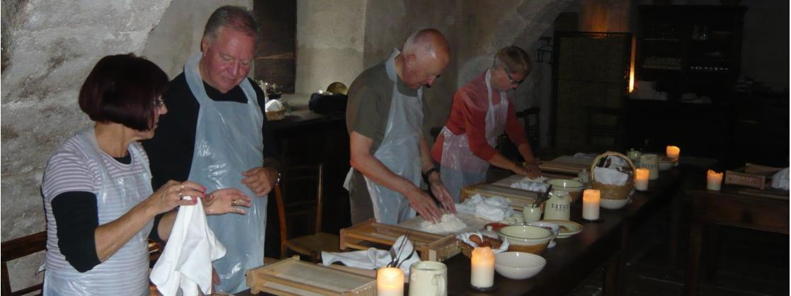Learning to make pasta in Abruzzo
